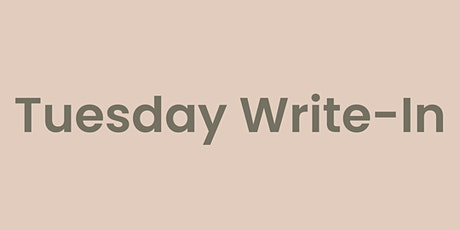 Tuesday Write-In tickets