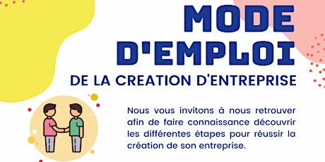 Création d'entreprise - Mode d'emploi de la création d'entreprise billets