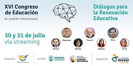 "XVI Congreso de Educación - ""Diálogos para la Renovación Educativa"" boletos"