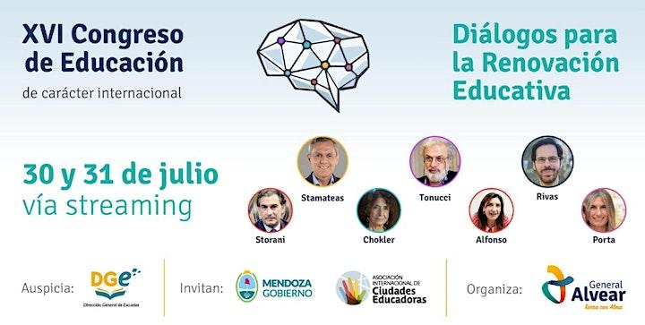 """Imagen de XVI Congreso de Educación - """"Diálogos para la Renovación Educativa"""""""