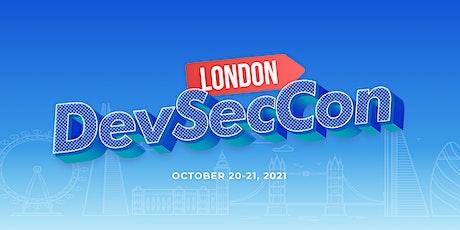 DevSecCon London 2021 tickets