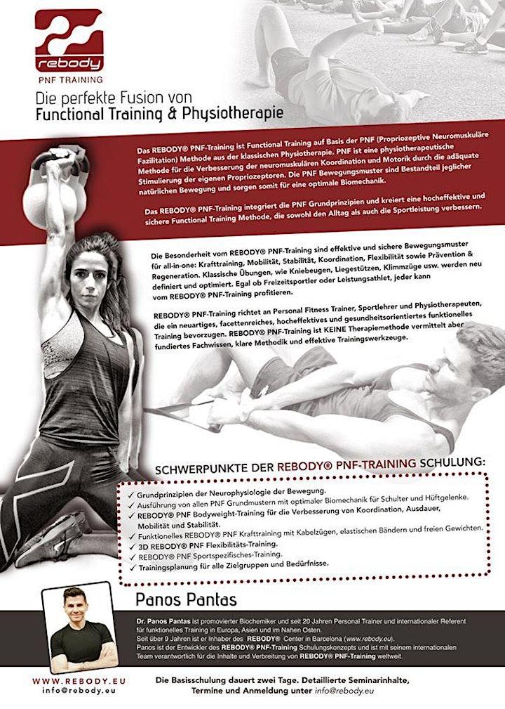 Rebody PNF Training - Aus- /Fortbildung für Trainer, Physiotherapeuten ...: Bild