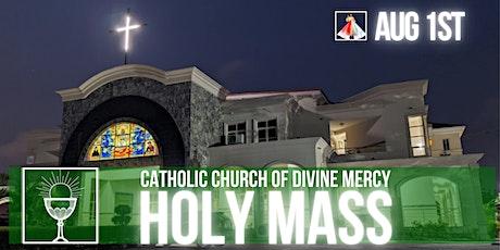 CCDM Sunday Mass Registration tickets