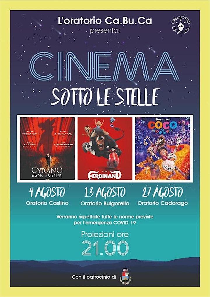 Immagine CINEMA SOTTO LE STELLE