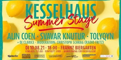 Kesselhaus Summer Stage Tickets