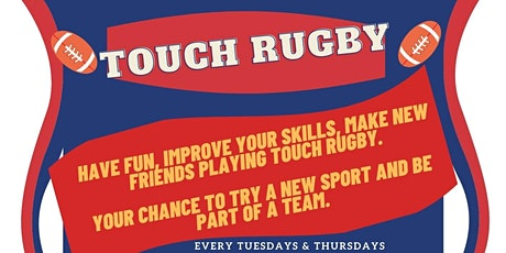 Touch Rugby Sessions tickets