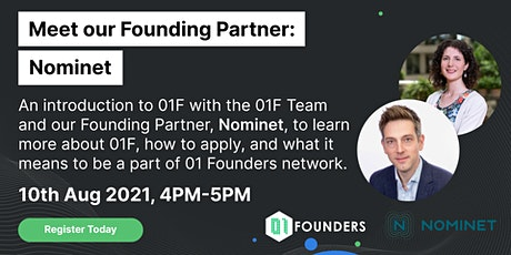 Meet our Founding Partner: Nominet // 01 Founders Event tickets