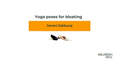 Yoga poses for bloating