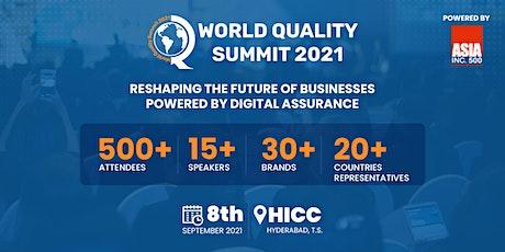 World Quality Summit 2021 tickets