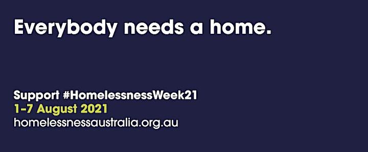 Woden's Public Meeting  - Homelessness Week Forum image