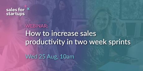 How to increase sales productivity with two week sprints tickets