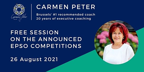 Free  Session on the announced EPSO competitions billets