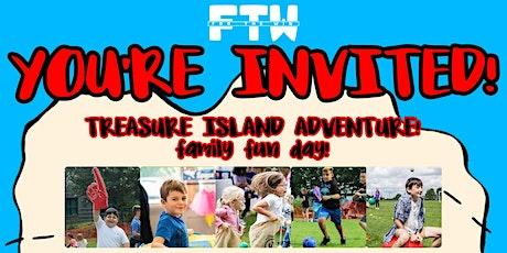 Treasure Island Adventure Sunday 8th August 2021 tickets