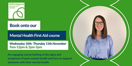 Mental Health First Aid Adult 2-day online tickets