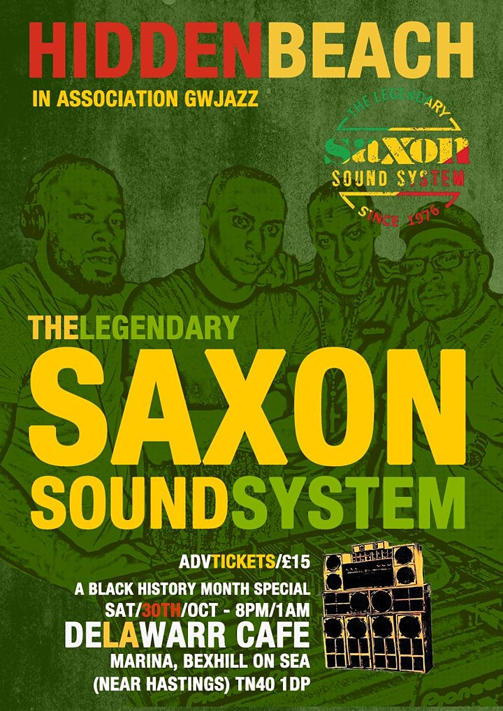 hiddenbeach present saxon international sound system image
