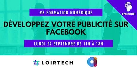 Atelier : Développez votre publicité sur le réseau social Facebook ! billets
