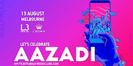 AAZADI @CROWN, MELBOURNE tickets