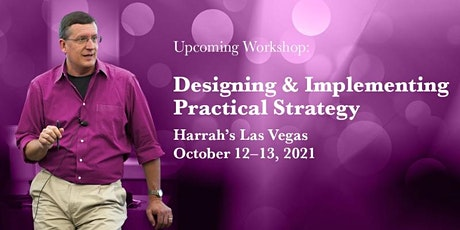 Strategy Workshop: Designing & Implementing Practical Strategy - Las Vegas tickets