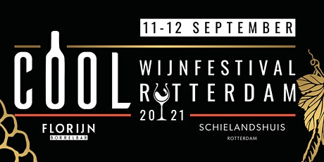 COOL Wijnfestival Rotterdam 2021 tickets