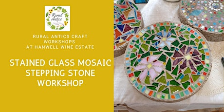 Stained Glass Mosaic Stepping Stone Workshop tickets
