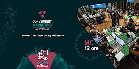 Ottobre - Convergent Marketing® MasterClass | MC12 | Convergent Marketer biglietti