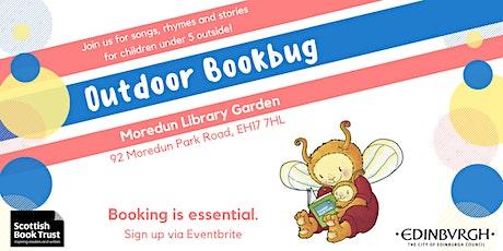 Outdoor Bookbug Session - Moredun Library Garden (11am) tickets