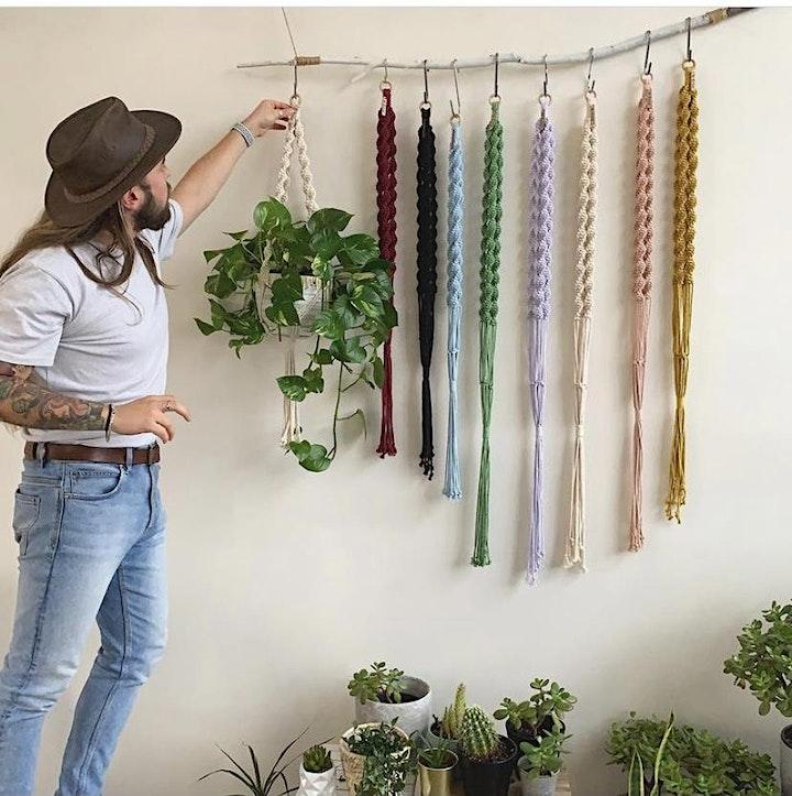 Macrame Planthanger Workshop image