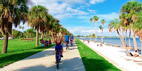 DT St. Pete to Johns Pass 25mile RT Grub & Suds Bikeabout Tour tickets