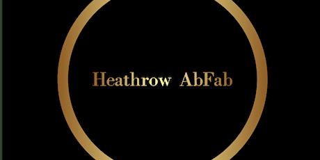 Heathrow AbFab Friday tickets