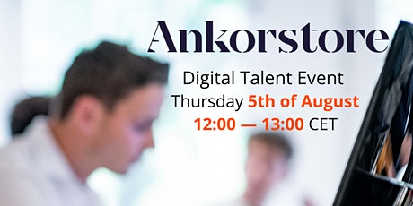 Talent Event Ankorstore Tickets