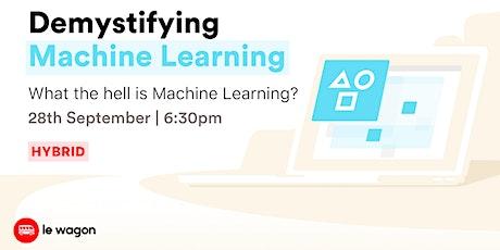 [Workshop] Demystifying Machine Learning tickets