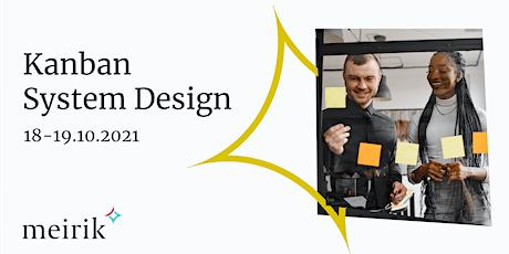 Kanban System Design (KSD) | English | 18-19.10.2021 Tickets