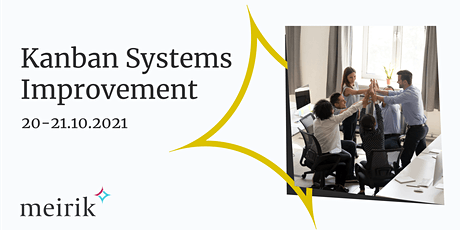 Kanban Systems Improvement (KSI) | English | 20-21.10.2021 billets
