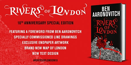 An Anniversary Interview with author Ben Aaronovitch tickets