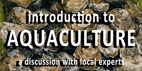 Introduction to Aquaculture tickets