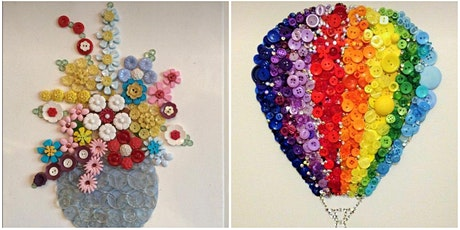 Therapeutic and destressing Button Art workshop tickets