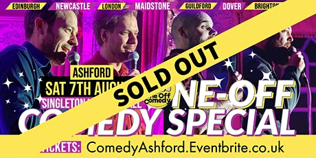 One Off Comedy Special at Singleton VH - Ashford! tickets