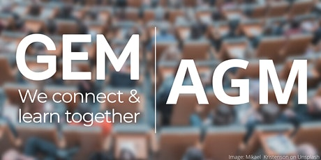 GEM AGM 2021 tickets