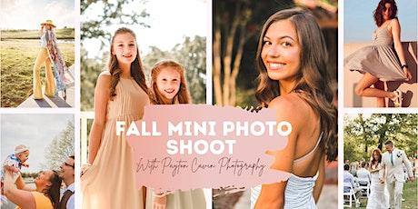 Fall Mini Photo Shoot with Payton Cavin Photography tickets