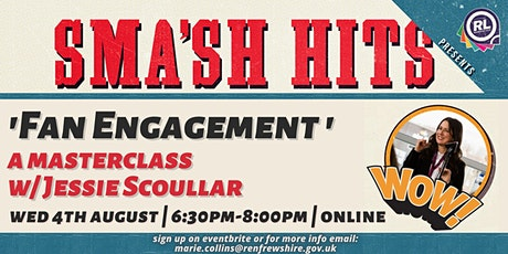 Fan Engagement Masterclass with Jessie Scoullar tickets