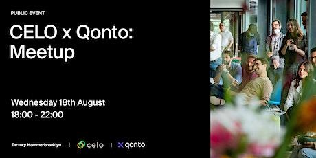 Community Meetup: Celo & Qonto Tickets