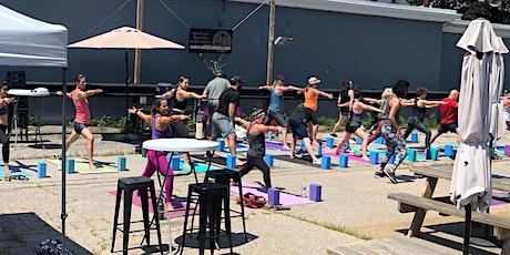 Untapped Yoga with Kristen: August Beer Garden Edition tickets
