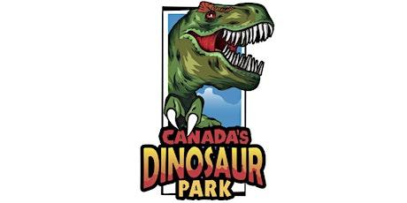 Dinosaur Drive-Thru: Aug 13th - COVID 19 Safe tickets