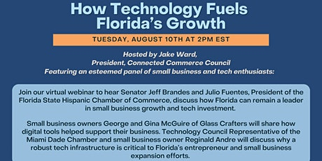 Webinar: How Technology Fuels Florida's Growth Ft. Senator Jeff Brandes tickets