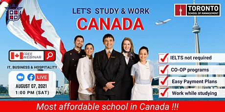 STUDY & WORK in CANADA with TORONTO SCHOOL OF MANAGEMENT tickets