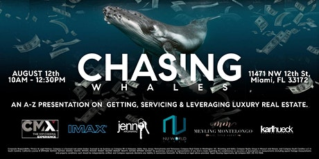 CHASING WHALES tickets