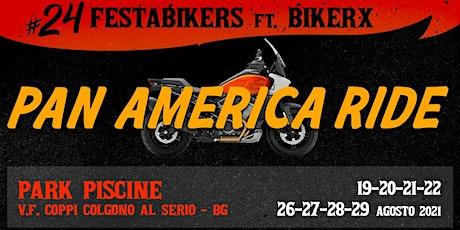 BikerX e 24FestaBikers:  PAN AMERICA HD corso motociclistico biglietti