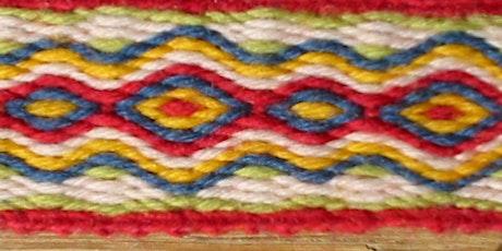 Tablet-Weaving - full day beginner workshop  10am-4pm tickets
