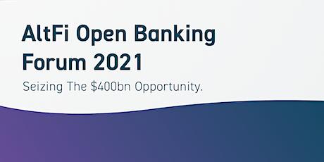 AltFi Open Banking Forum 2021 tickets