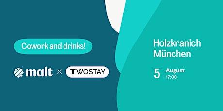 Malt X Twostay Afterwork Drinks Tickets
